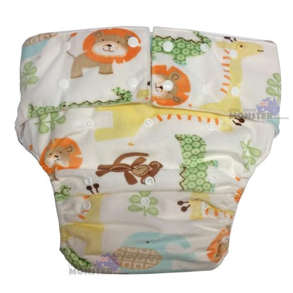 Animals Adult Cloth Diaper
