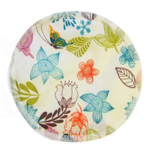 Bamboo Breast Pad Pretty Flowers