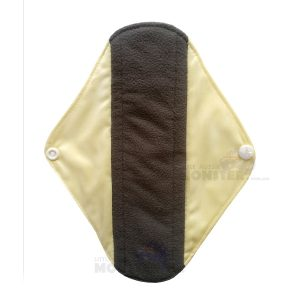 Incontinence pad yellow