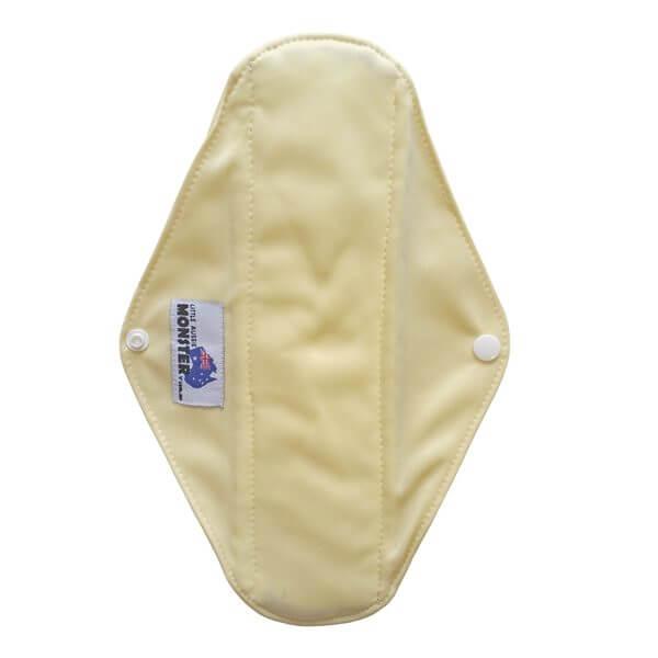 Sanitary Pads Plain Yellow