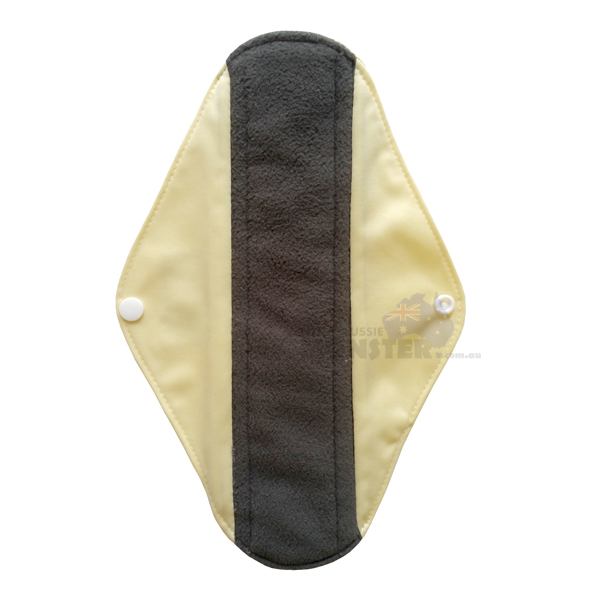 Bamboo Sanitary Pads Plain Yellow