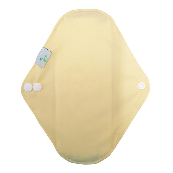 Incontinence pad yellow