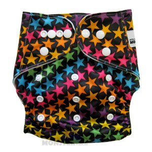 Colourful Stars Modern Cloth Nappies