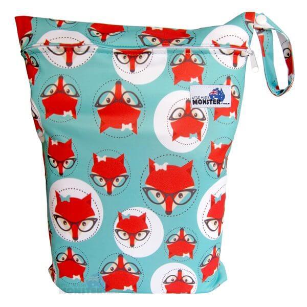 wet bag green fox