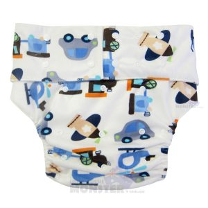 Planes Adult Cloth Diaper
