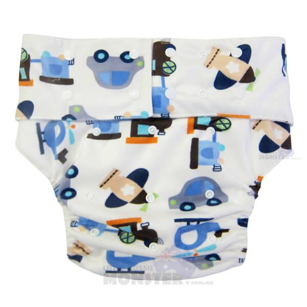 Planes Adult Cloth Diaper