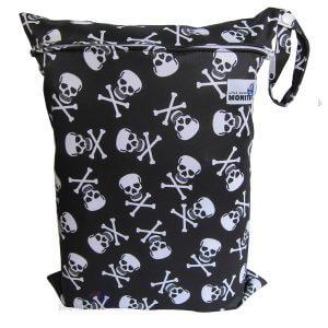 wet bag skulls & bones