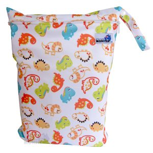 cute dino wet bag
