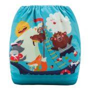 Cloth Diaper Animals Sailing
