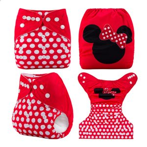 Red Mini Mouse MCN