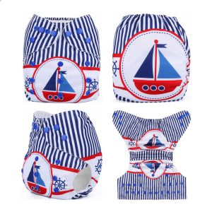 Sail Boat & Stripes MCN