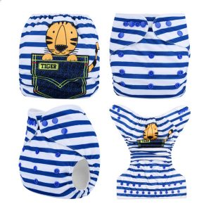 Pocket Tiger Stripes MCN