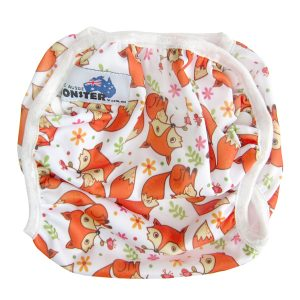 Cute Fox Swim Nappy