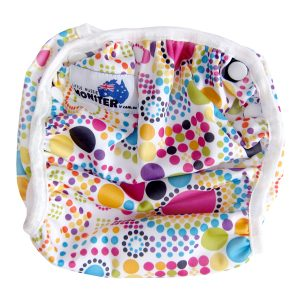 Colourful Spots Swim Nappy