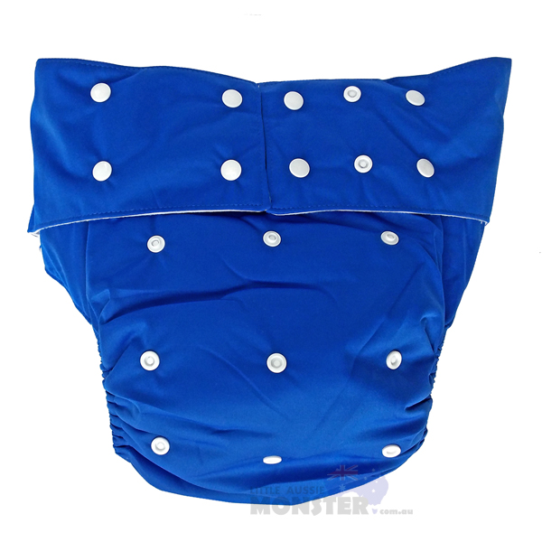 Dark Blue Adult Cloth Diaper
