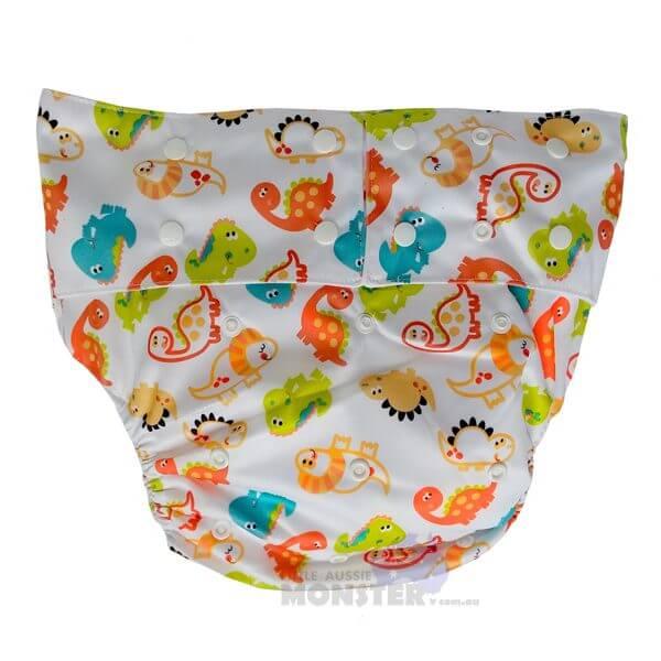 Dinosaur Adult Cloth Diaper