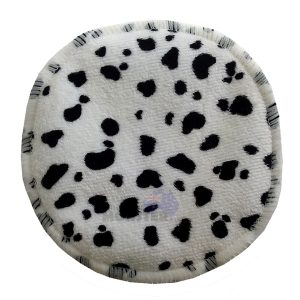 Bamboo Breast Pad Minky Cow