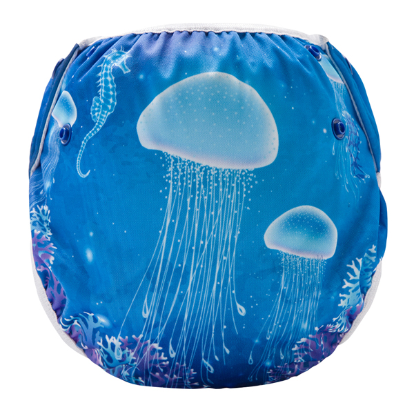Gorgeous Jellyfish Reusable Swim Diaper