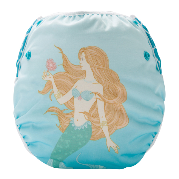 Mermaid Reusable Swim Diaper