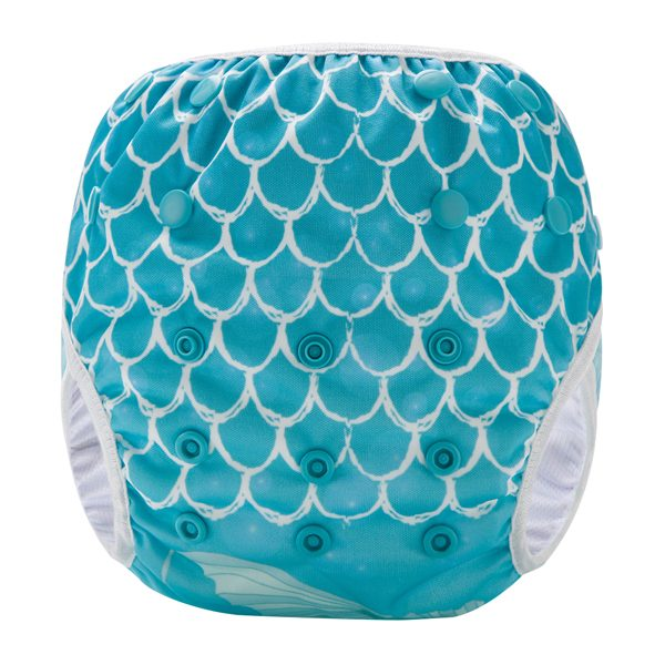 Beautiful Mermaid Reusable Swim Nappy