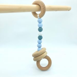 Play Gym Teether Toy Blue