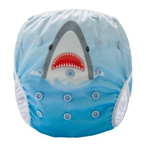 Shark Reusable Swim Nappy