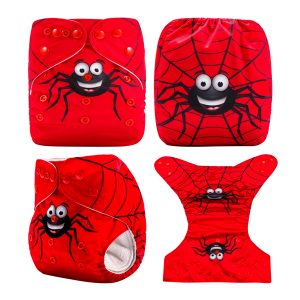 Mr Happy Spider Cloth Diaper