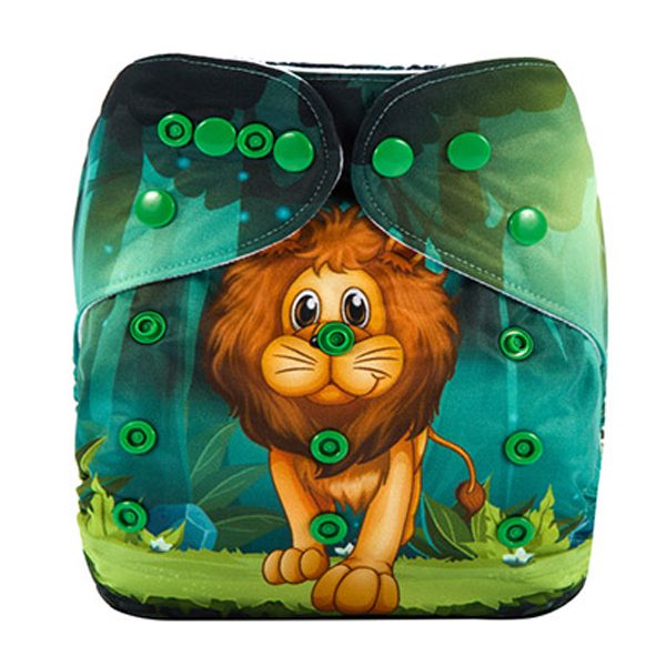 Awesome Lion Cloth Diaper