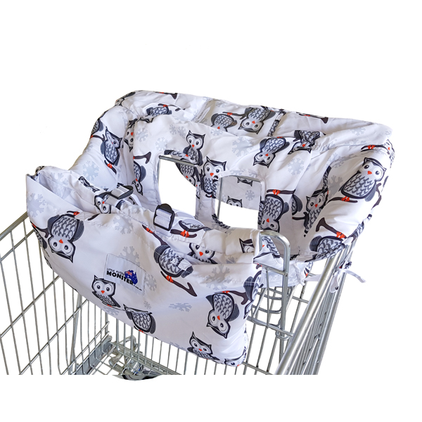 Shopping Trolley Cover Owls