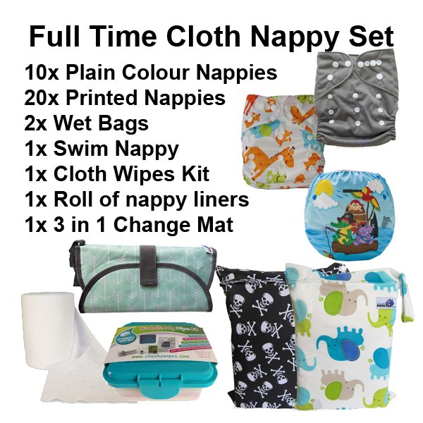 Full Time Cloth Nappies