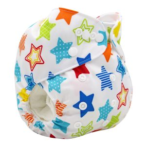Awesome Stars Cloth Nappy