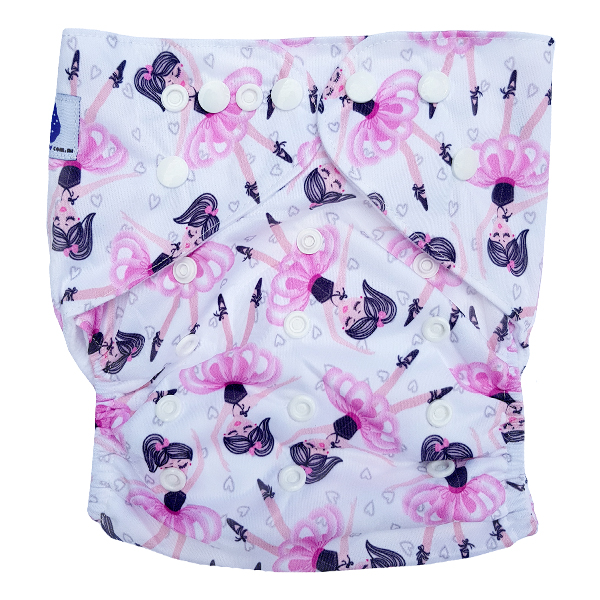 Junior XL cloth nappy Ballerina Tutu