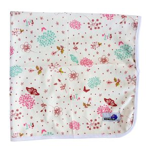 Baby Change Mat Pretty Flowers