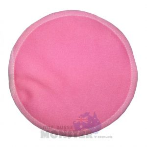 Bamboo Plain Pink Breast Pad
