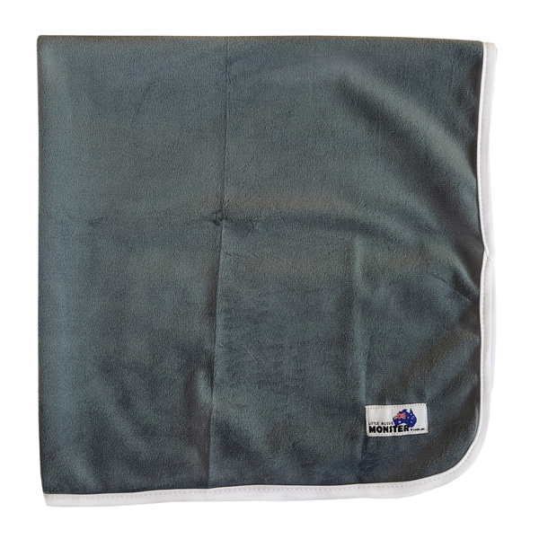 Baby Change Mat Solid Grey
