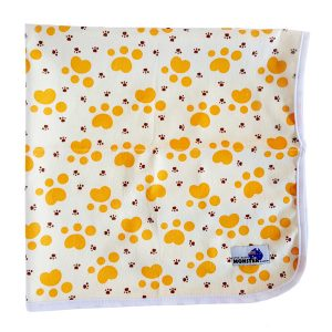 Baby Change Mat Paw Prints