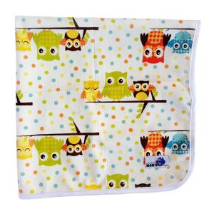 Baby Change Mat Owl Family