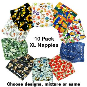 10 Pack Junior Nappies