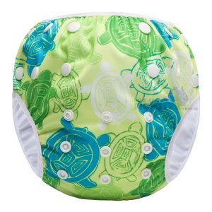 Australian Green Turtles Reusable Swim Nappy