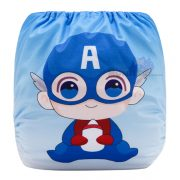 Cute Captain America Modern Cloth Diaper