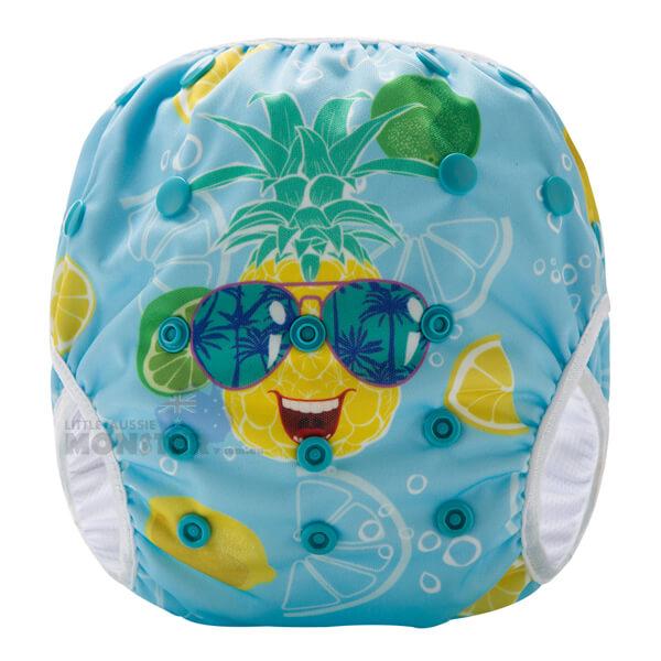 Juicy Pineapple Reusable Swim Nappy