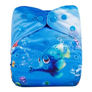 Underwater Paradise Modern Cloth Diaper