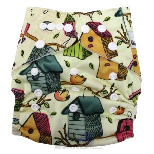 Bird House Modern Cloth Nappy