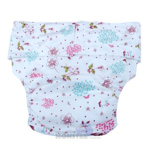 Pretty Flowers Adult Cloth Diaper