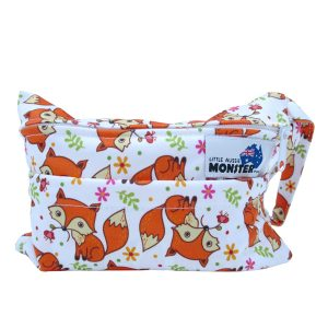 Mini Wet Bag Fox & Flowers