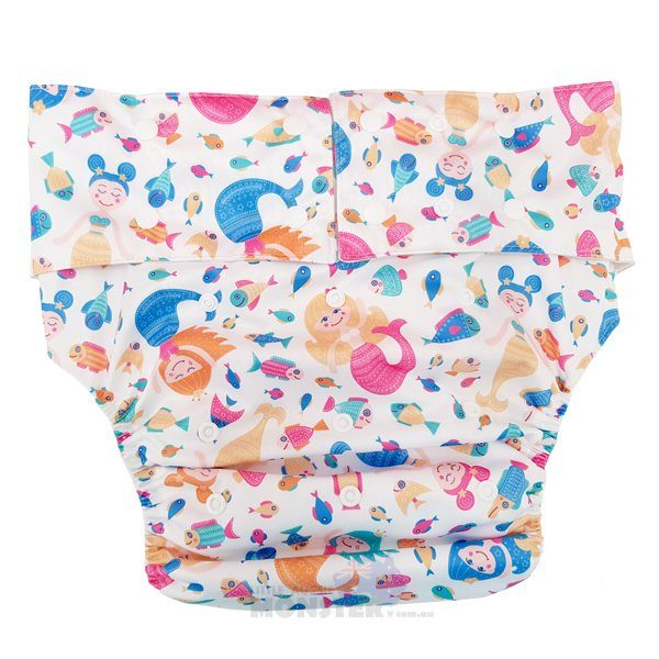 Mermaids Adult Cloth Diaper