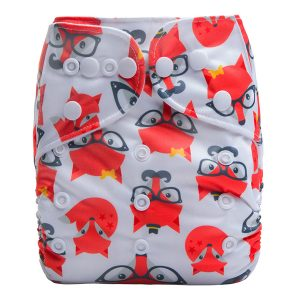 Smart Fox Modern Cloth Nappy