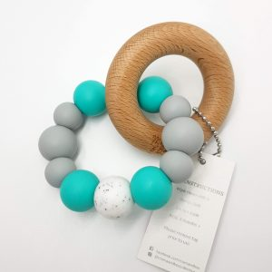 Teether Ring Aqua