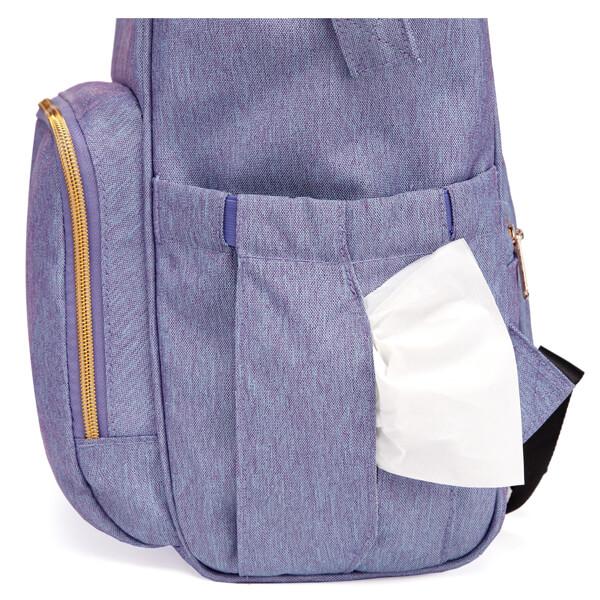 Backpack Blue Wipes Pocket new