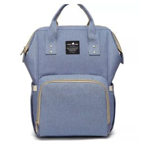 Blue Nappy Bag Backpack